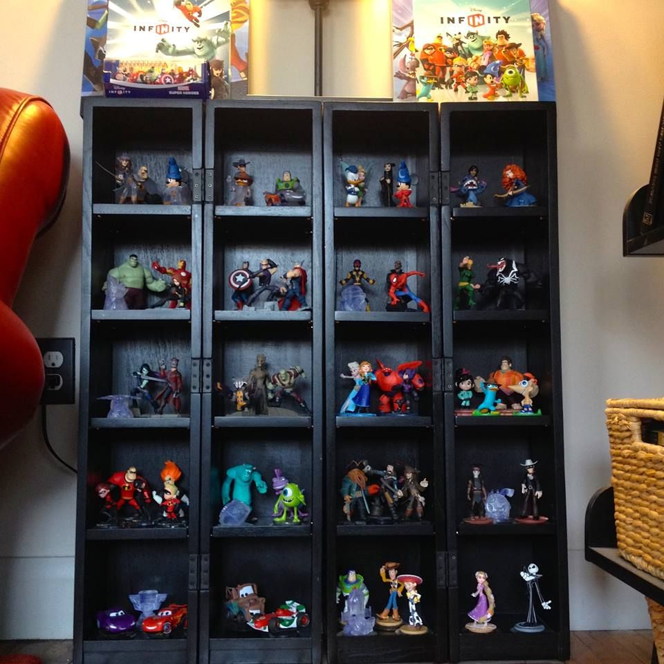 2c67f958e Disney Infinity display case/ shelf … | shop display | Disney ...