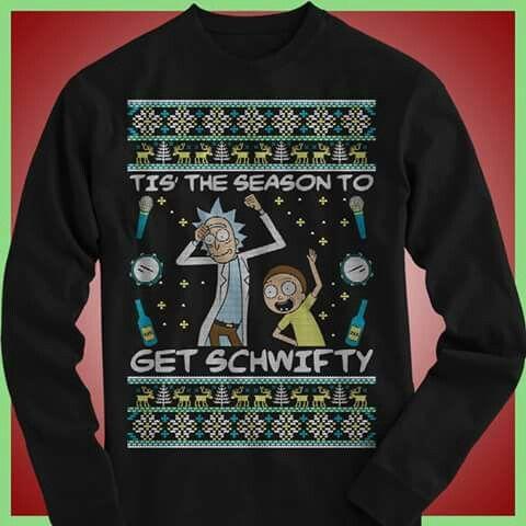 Rick Morty Ugly Christmas Sweater Stuff To Buy