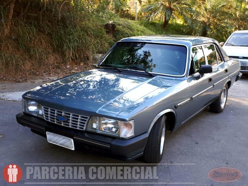 Opala Comodoro 4 1 S 1989 Maxicar Carro Antigo Pura Nostalgia