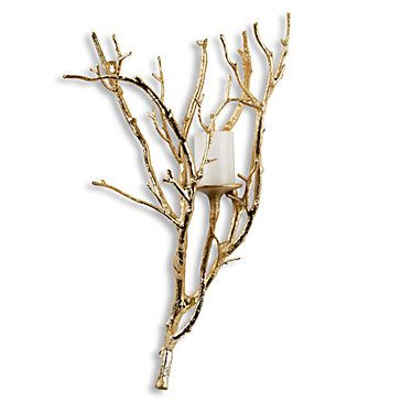 Branch Wall Sconce Candleholders Accessories Decor