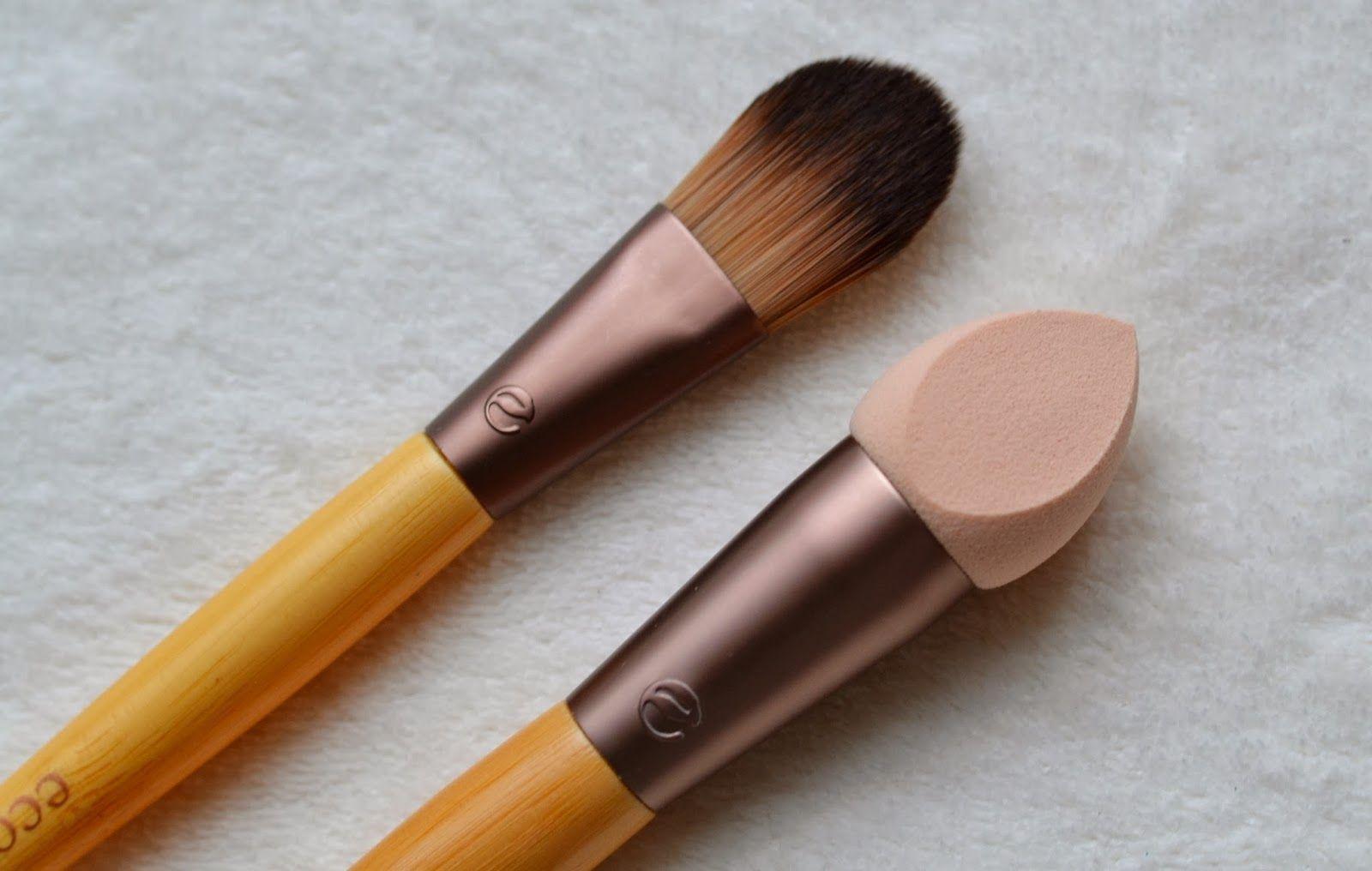 Eco Makeup Sponge Saubhaya Tools 1616 Perfecting Duo London Beauty Queen Techniques Foundation Brush Vs Applicator