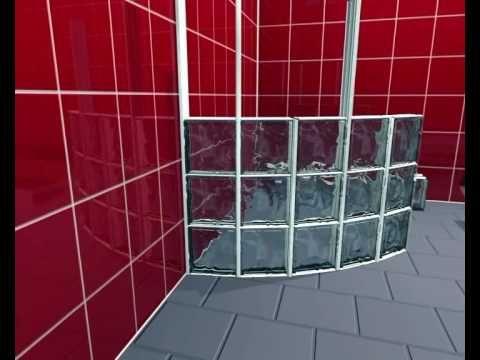 block lock 360 montagesystem fr runde wnde aus glasbausteinen youtube - Glasbausteine Dusche Bilder