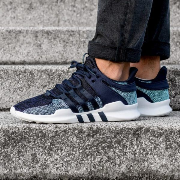 Parley x adidas EQT Support ADV Legend Ink in 2019