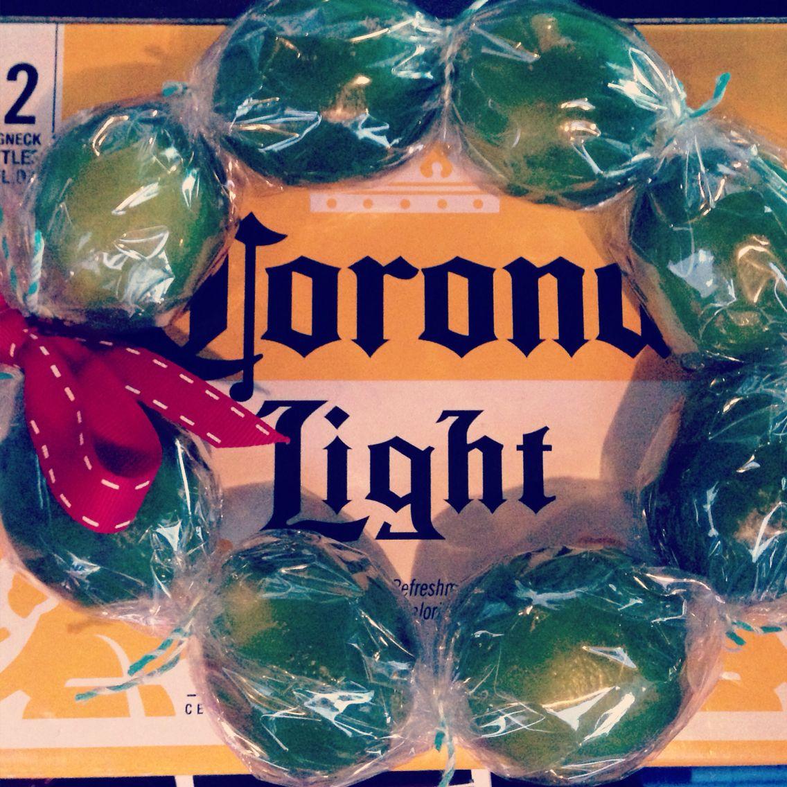Corona and lime wreath!