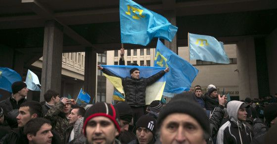 Some are calling on Muslims to travel to Ukraine to take up arms for their Crimean brothers -  With Russia and Ukraine in a tense standoff over the fate of Crimea, jihadis are bashing Russia in their forums and social media accounts. In some cases, they're even calling on Muslims to travel to Eastern Ukraine to defend their religious brothers.