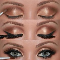 vintage wedding makeup for brown eyes - Google Search | Wedding Hair ...