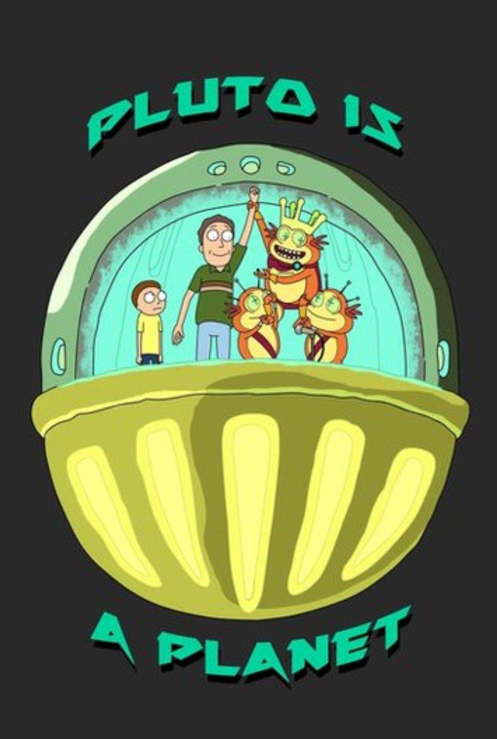 Rick and Morty x Pluto is a Planet | Rick and Morty | Rick i morty