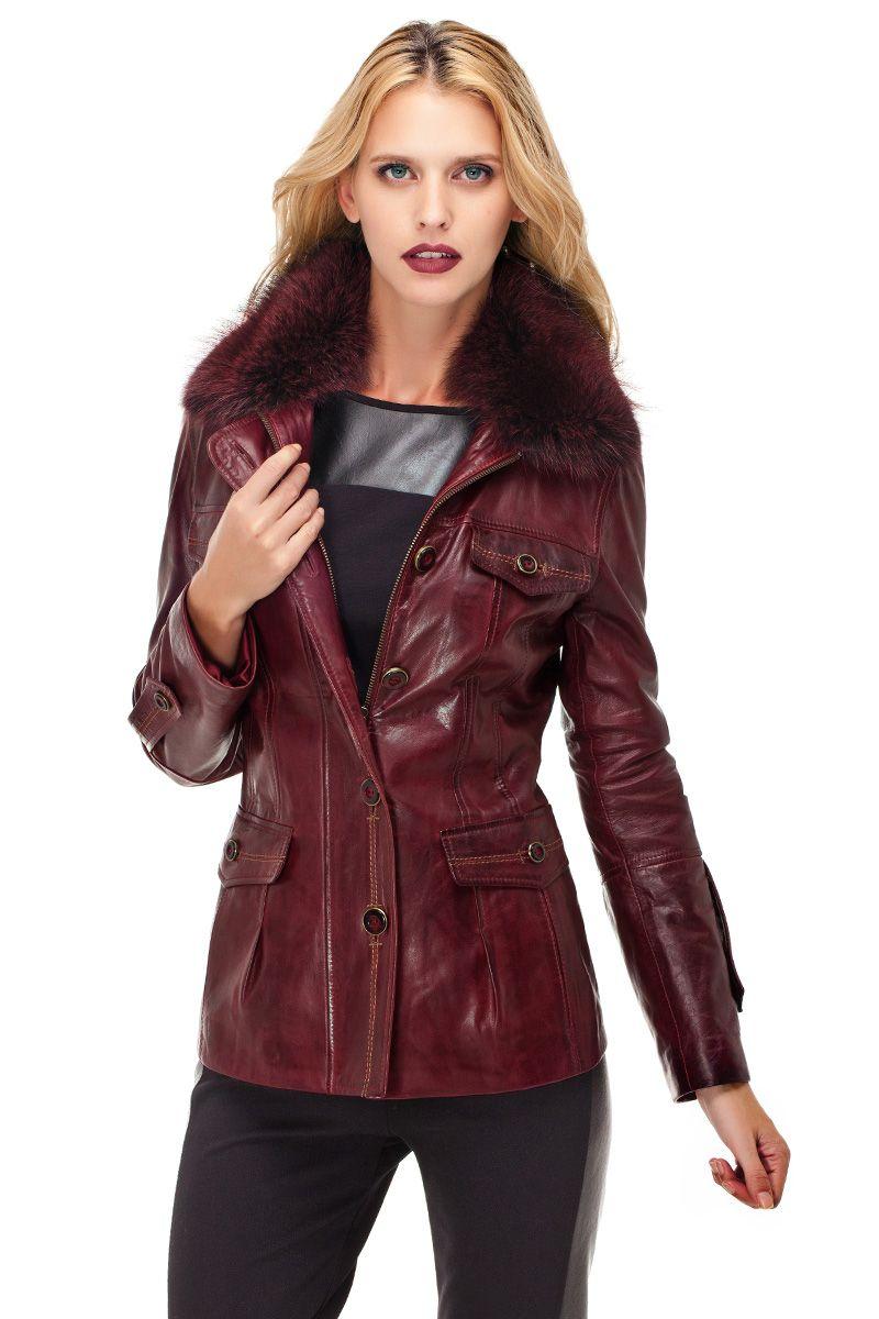 Deride Modanin Adresi Trendy Fashion Leather Hip Leatherjacket Dericeket Deri Www Derimod Com Tr Chaqueta De Cuero Chaquetas Chaquetones