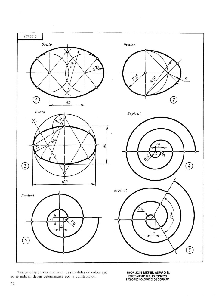 Arco Y Tangencias Arte De Geometria Tangencias Geometria Descriptiva