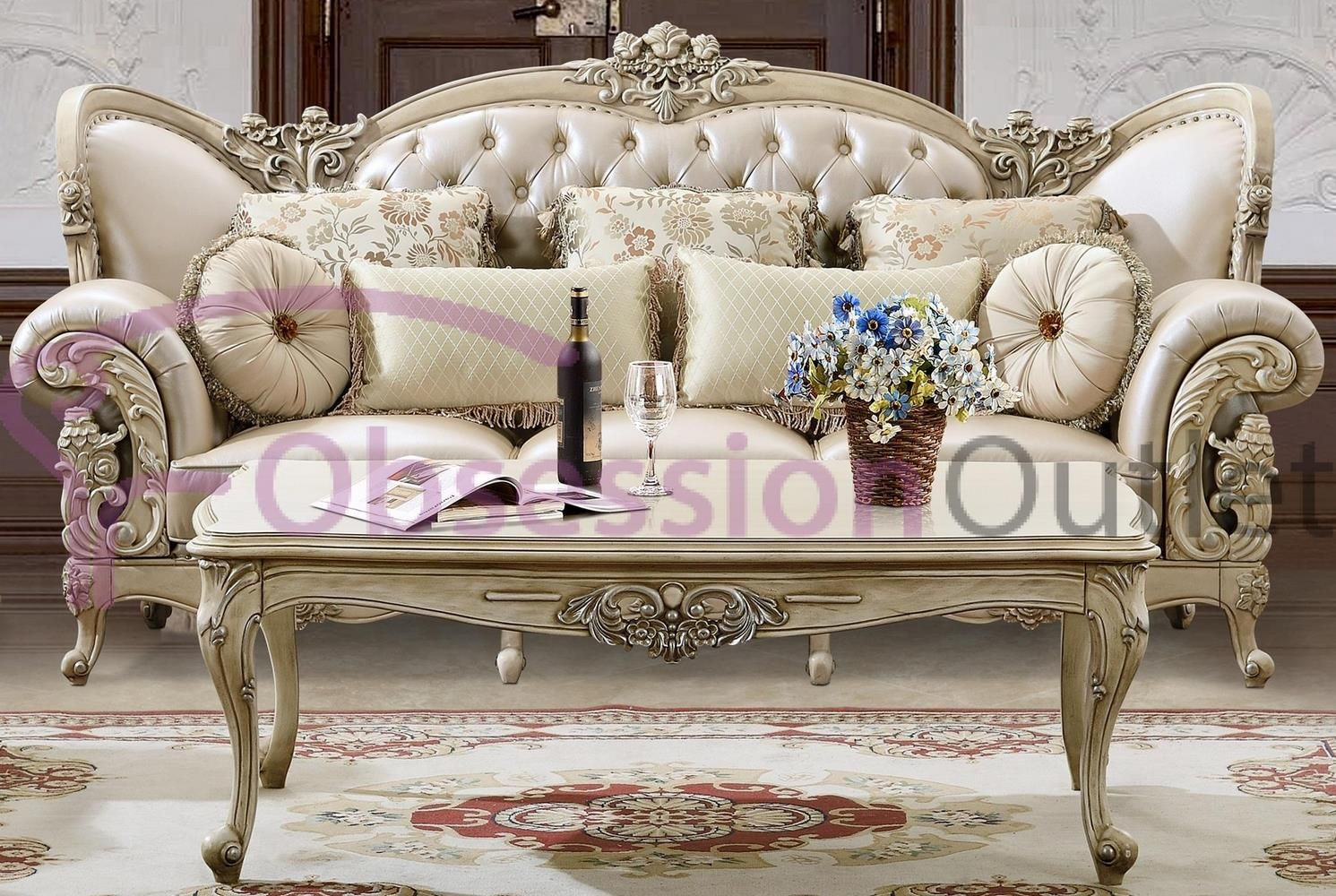 Sku Lsd246 Obsession Outlet In 2020 Living Room Table Sets Luxury Sofa Living Room Traditional Living Room Furniture #traditional #living #room #sets #furniture