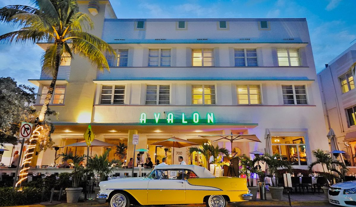 Art Deco Hotels Miami Avalon Hotel South Beach