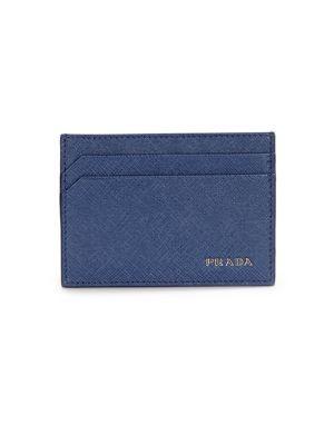 ecdca29bc5c7 PRADA Lettered Leather Card Case. #prada #bags #leather # Prada Wallet,