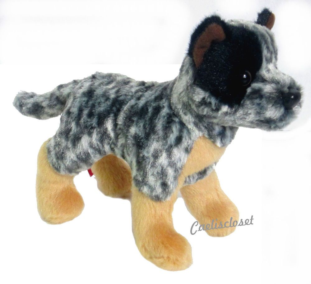 Douglas Clanger Australian Cattle Dog 8 Plush Stuffed Puppy Dog