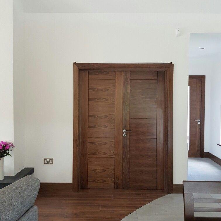 French Doors, Double Doors, Our Walnut Deanta Hp12 Door Sets By Murphy  Larkin