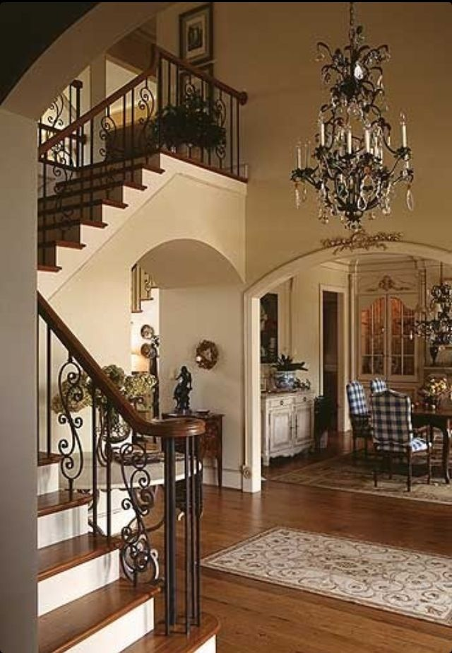 I Want To Change My Stair Banisters To Wrought Iron.