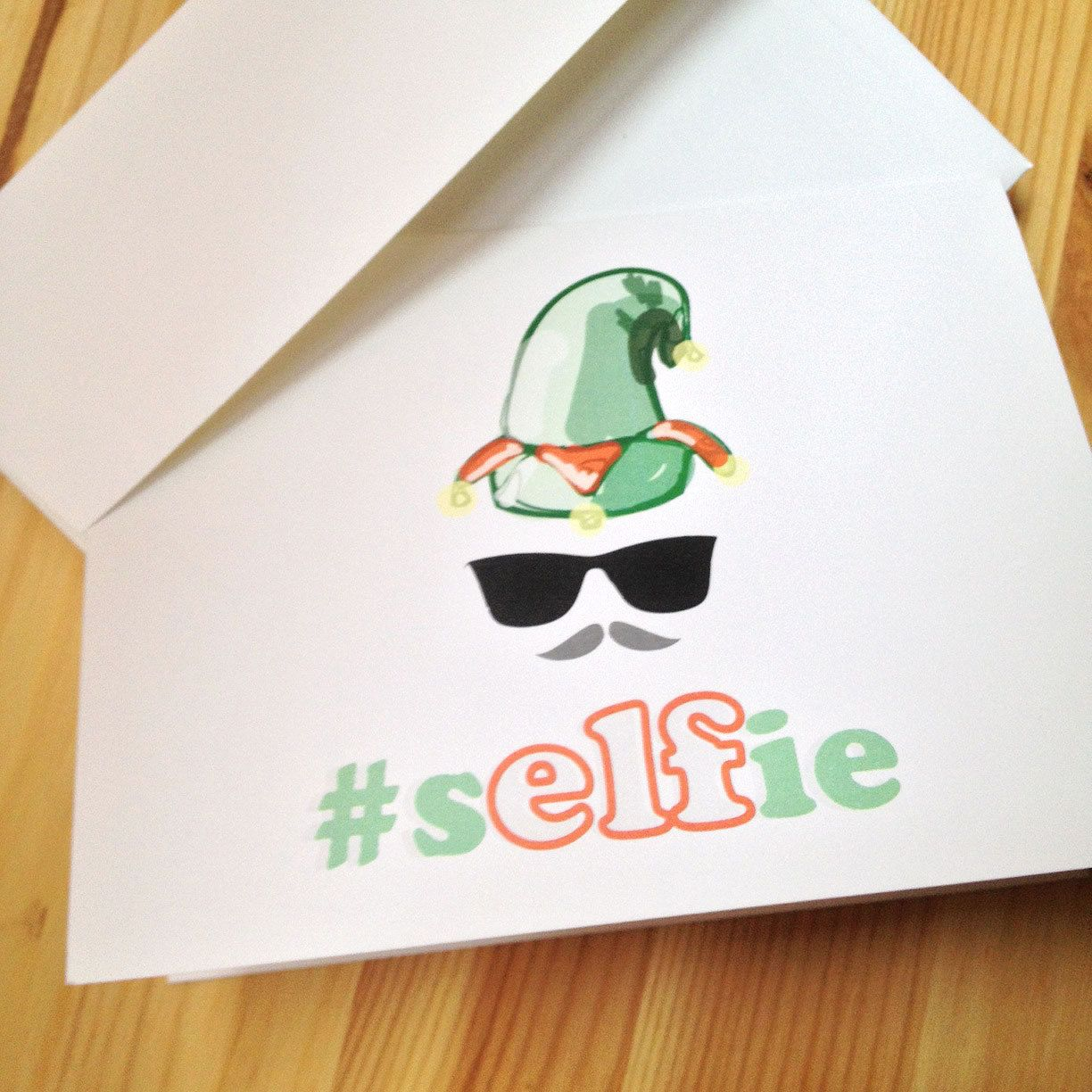 Christmas simple designs google search come back to this selfie elf funny christmas card selfie hipster by sillyreggie kristyandbryce Image collections