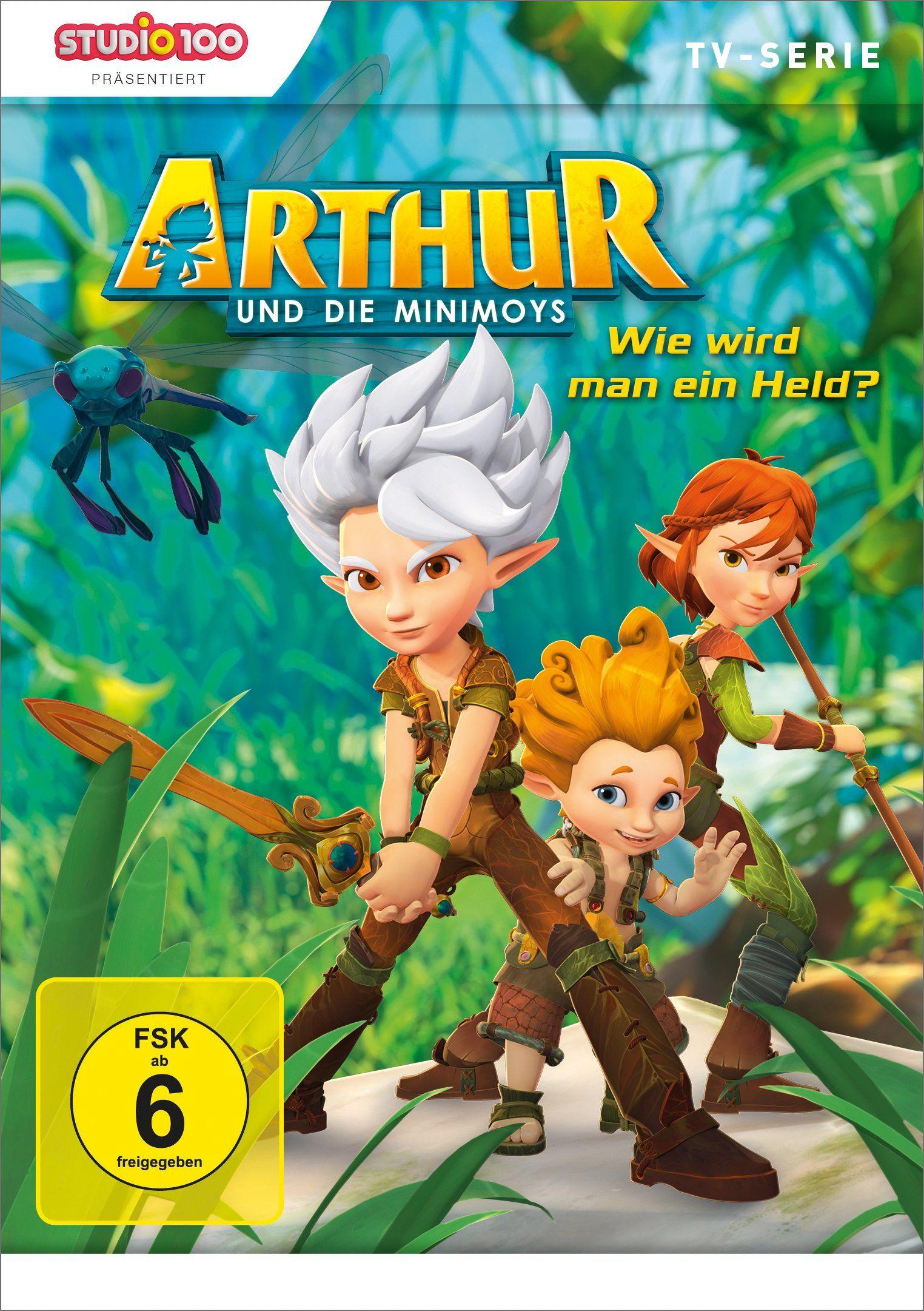 Arthur und die Minimoys 2 | German DVD Covers