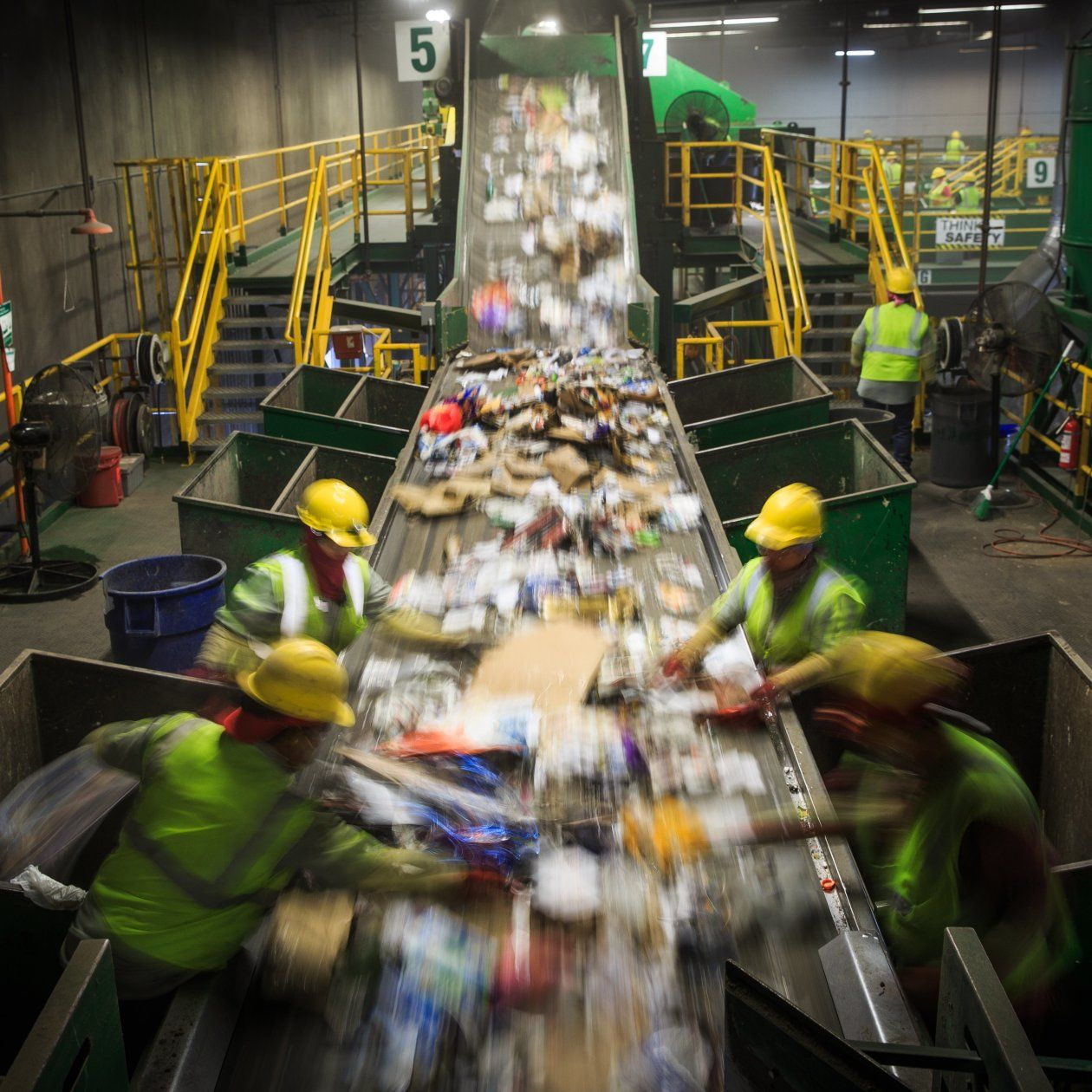 Recycling, Once Embraced by Businesses and