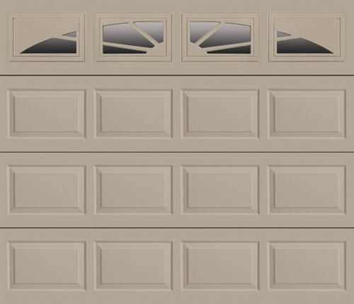 Sunrise M4sv 9 Ft X 7 Ft Sandstone Insul Garage Door At Menards Garage Doors Menards Garage Doors Garage