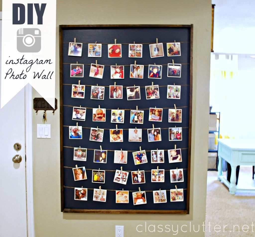 Our favorite diys instagram wall photo wall and tutorials board amipublicfo Choice Image
