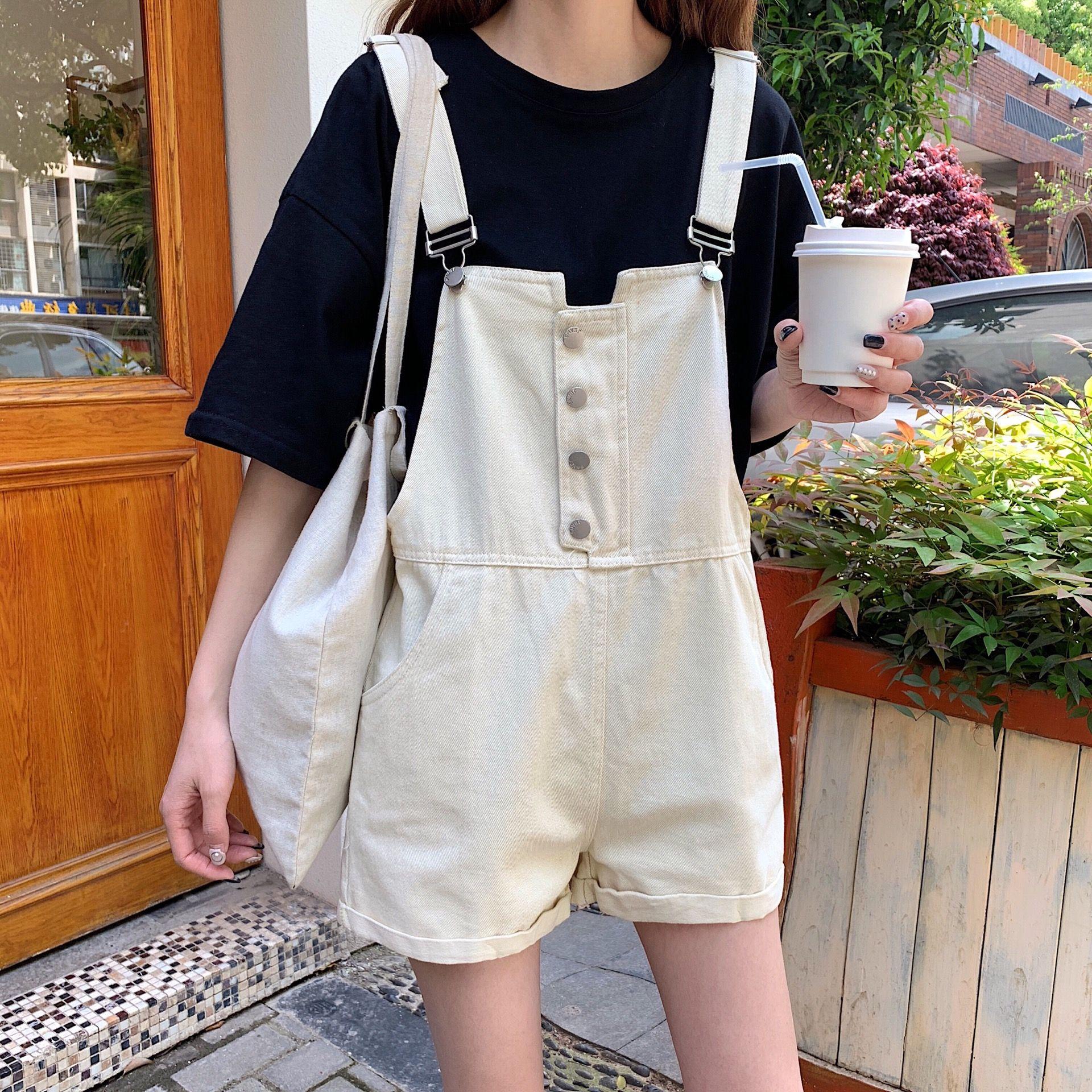 Cute denim overalls in 6  Korean fashion, Fashion, Stylish outfits
