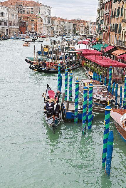 Grand Canal,  Venice, Italy, province of Venezia , Veneto