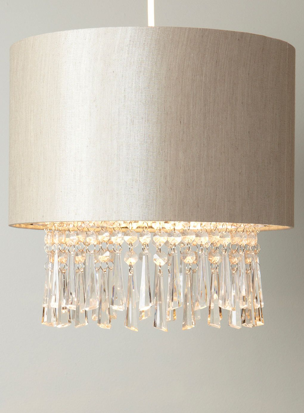 Bhs Ina Wall Lights : Neutral Dropper Ceiling Shade - ceiling lights - Home & Lighting - BHS Light fittings ...