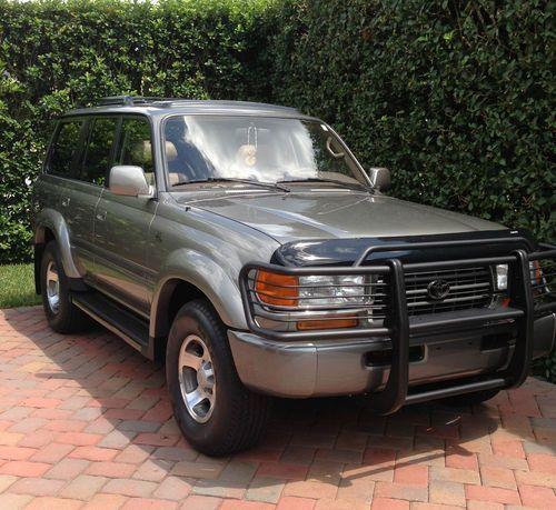 1997 Toyota Landcruiser 40th Anniversary Edition Toyota Land Cruiser Land Cruiser Land Cruiser Fj80