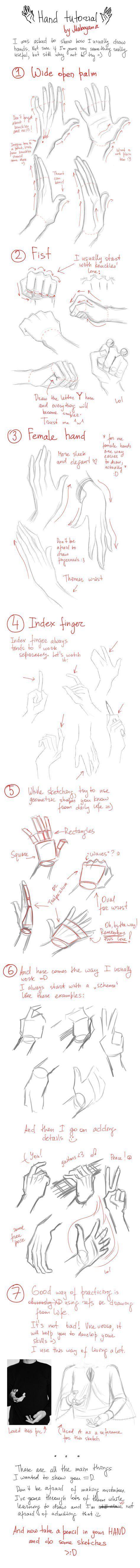 Pin von Raiko auf Manga Zeichnen | Pinterest | Hände, Zeichnen und ...