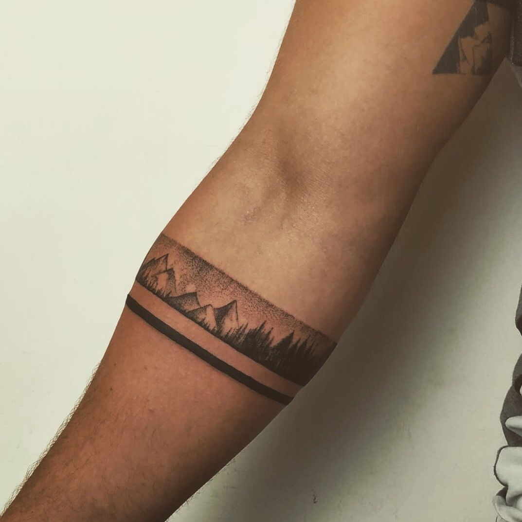 Untitled In 2020 Forearm Band Tattoos Wrist Band Tattoo Wrist Tattoos For Guys