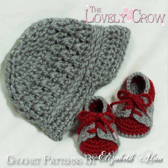 Boy Sports Crochet Pattern Includes Little Sport NEWSBOY HAT and Little  Sport SADDLES digital d0f49091372