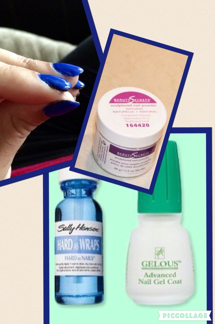 Diy acrylic overlay on natural nails: 1. Clean nail bed and file 2 ...