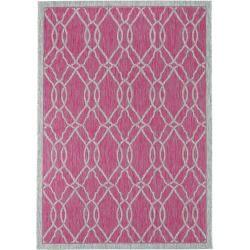 Photo of benuta Plus In- & Outdoor-Teppich Cleo Pink 120×170 cm – für Balkon, Terrasse & Garten benuta