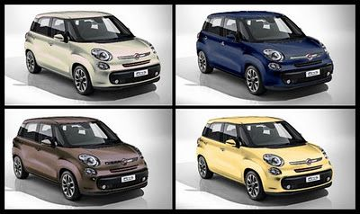 New Fiat 500 L Ellezero Colors Bicolor I Fiat 500 New