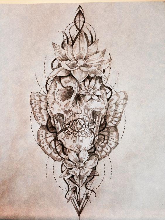 Photo of 30 superbes idées de tatouage de fleur de lotus – Stylebekleidung.com #flowertattoos – Images de tatouage bricolage