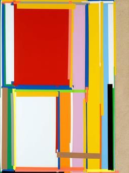 "Joachim Grommek,""Francis"", 2006, Lack, Acryl, Öl, Grundierung auf Spanplatte, 120 x 90 cm"