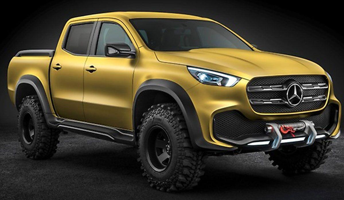 Mercedes-Benz Unveils Their New Pickup Truck | Wagon Gypsy