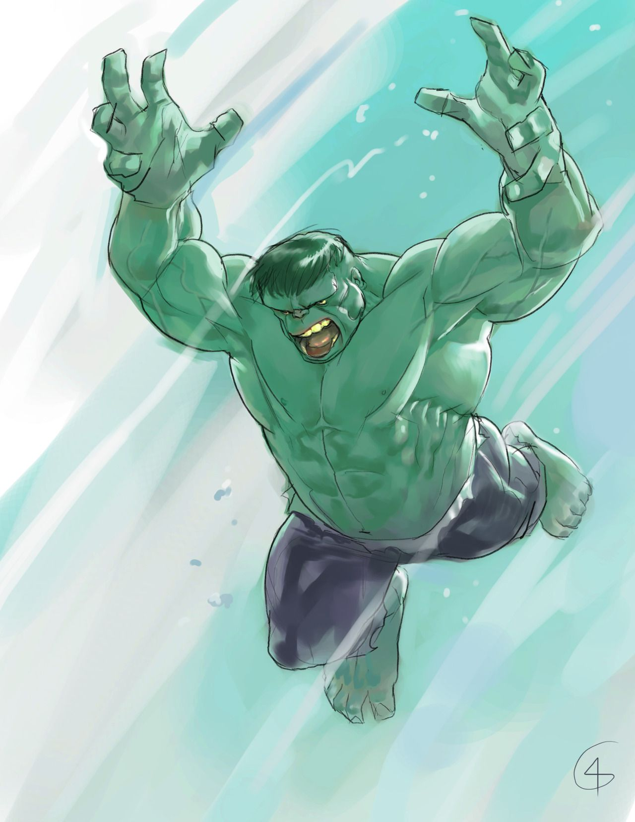 The Hulk by Godfrey Escota *
