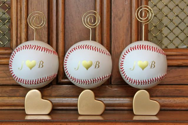 Baseball Wedding Card Holders Wedding Diy Place Card