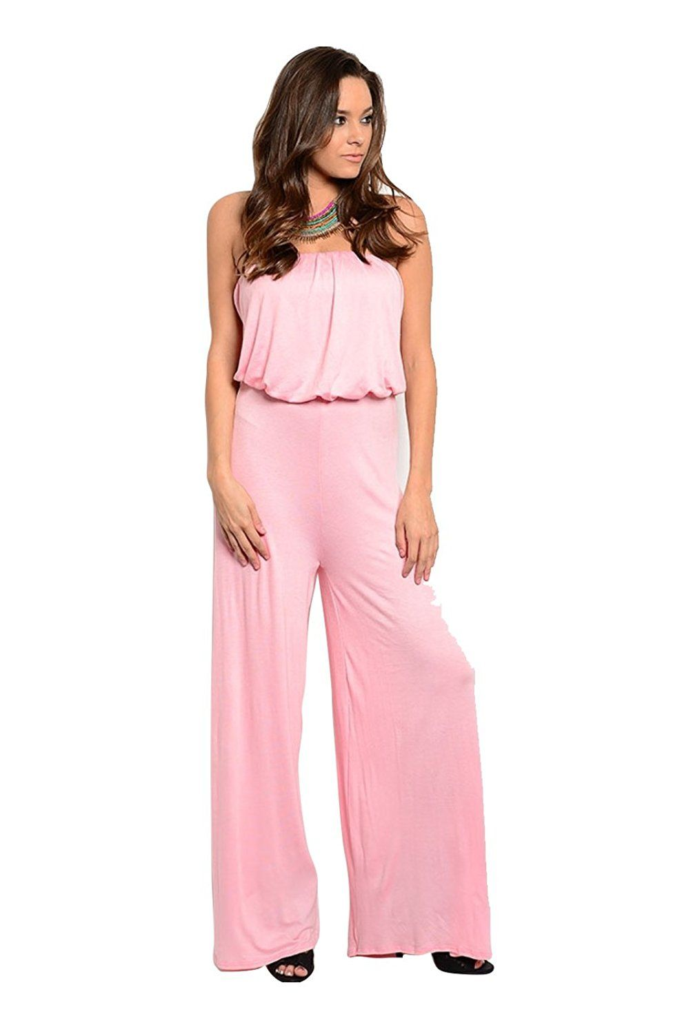 469b2d0ecbf 2LUV Women s Strapless Dressy Wide Leg Jumpsuit     This is an Amazon  Affiliate link. Read more reviews of the product by visiting the link on  the image.