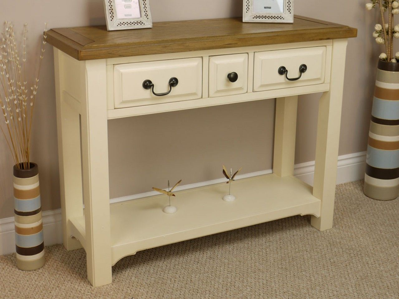 Cream Hall Table oak hall console table - google search | hall new house