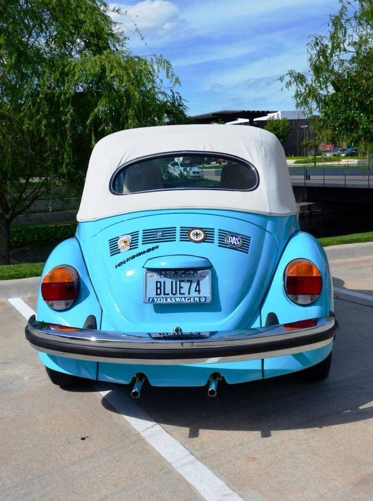 Blue Beetle Cars : beetle, Mohler, Beetle, Convertible,, Classic, Muscle