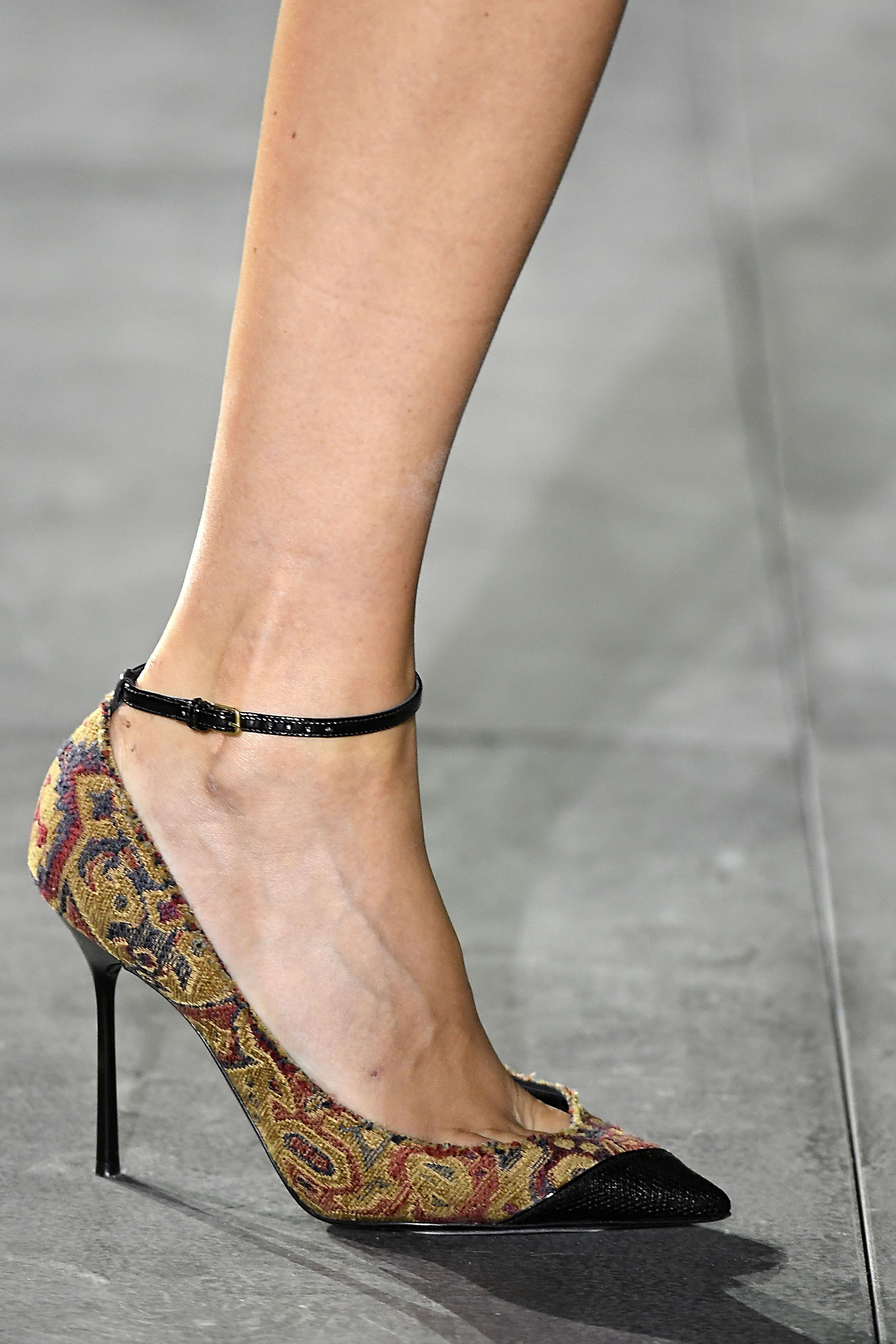 Ellecom 153 Memorable Pairs Of Shoes From Fashion Month St Laurent