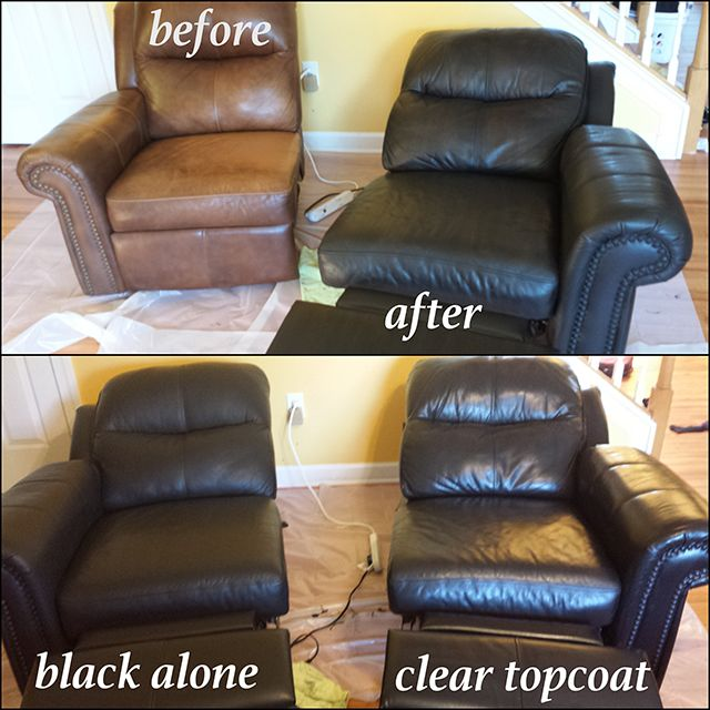 Black Vinyl Leather Finish Brown Leather Chairs Painting Leather Leather Chair