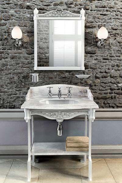 Burlington Arched Mirror With Chrome Frame A9 Chr At Victorian Plumbing Uk Glass Shelves Glass Bathroom Burlington Bathroom