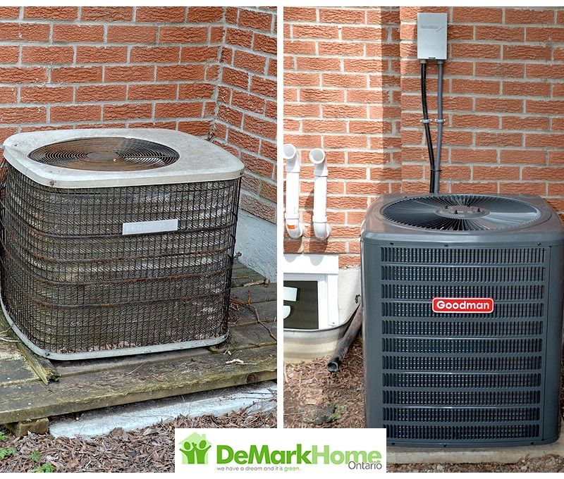 HVAC Before & After Gallery DeMark Home Ontario Furnaces
