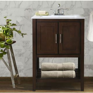 Shop For Traditional Single Sink Bathroom Vanity. Get Free Delivery At  Overstock.com