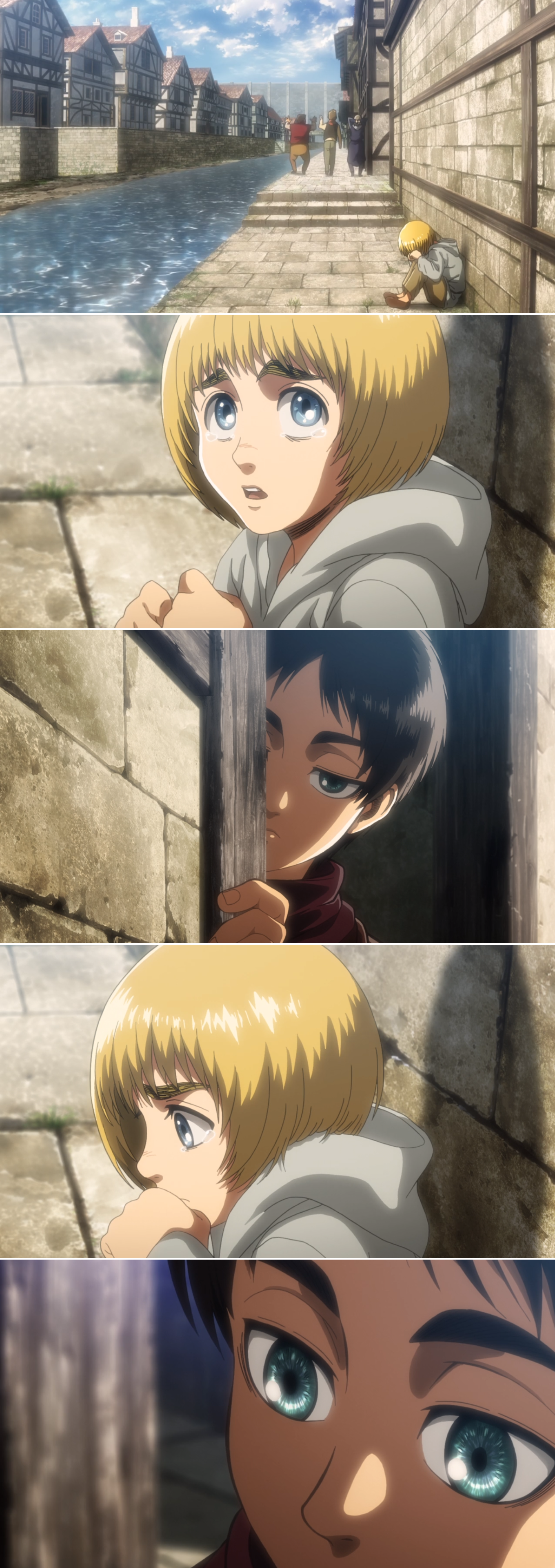 Photo of Attack on Titan /Eren and Armin