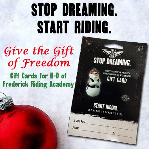 Give The Gift Of Harley Give The Gift Of Freedom Buy A Gift Card
