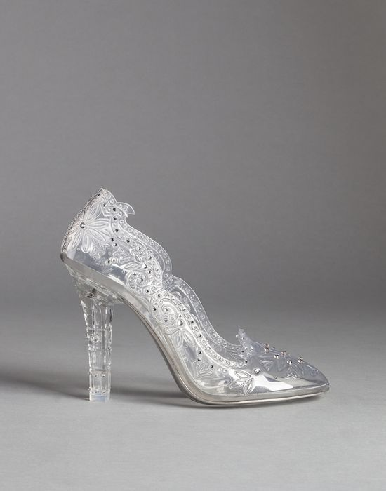 BETTE CLEAR PVC PUMPS WITH CRYSTALS | Dolce&Gabbana Online